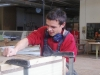 Stephan Ebensperger beim Arbeiten 30 12 2009